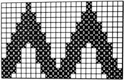 Красивый рельефный узор спицами схема фото 893
