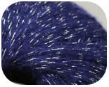 Пряжа IDROGENO, фактура - мохер, фиолет люрекс