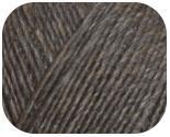 Пряжа BRIGITA, фактура - альпака, шерсть,темно- серый