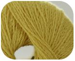 Пряжа FABIANA, фактура -  вискоза, желтый