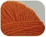 Пряжа FABIANA, фактура -  вискоза, оранж