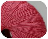 Пряжа FLAVIA, фактура - вискоза, ярко-розовый