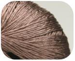 Пряжа DIVINA, фактура - вискоза, коричневый