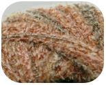 Пряжа OLIVIA, фактура - пряжа травка, фантази, коричневый